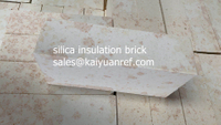 Silica insulating fireproof brick